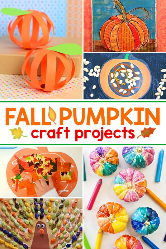 Fall Pumpkin Art Projects These pumpkin crafts are the perfect fall art activity for kids.