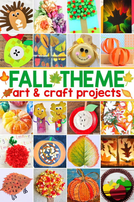 Fall Art Projects Everyone will love these fall art and craft projects. There are lots of apple crafts, pumpkin crafts, fall leaf crafts, and even more fun fall crafts to choose from.