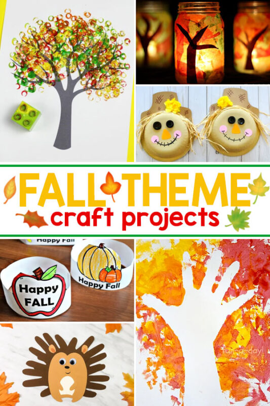Fun and free Fall Theme with more than a weeks worth of math, science, art, & literacy activities for kids of all ages!