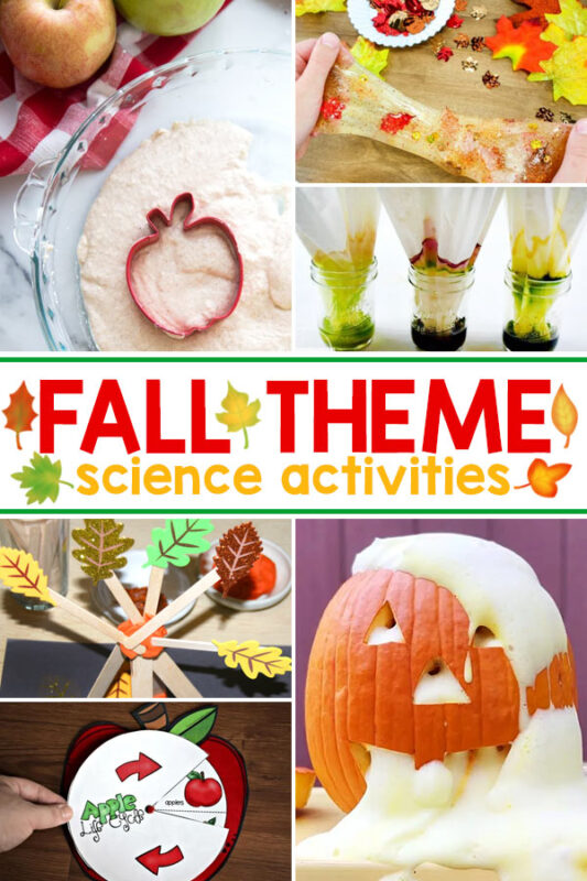 Fall Science Projects Kids of all ages will love doing these fun fall science experiments and activities. Learn about the seasons, nature, and lots more with these fall themed science ideas for kids.