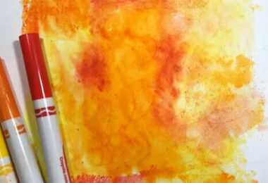 Diffusion Watercolor Art for Kids