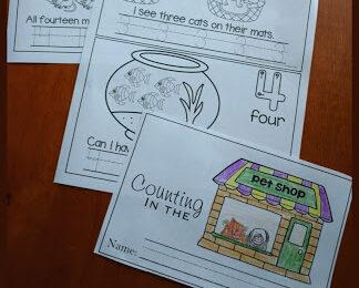 Pet Shop Kindergarten Sight Words Reader