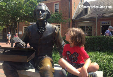Visiting Colonial Williamsburg with Kids