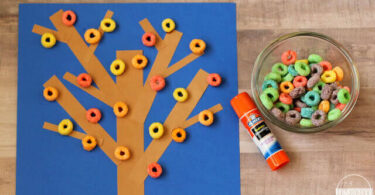 Cereal-Fall-Tree-Craft