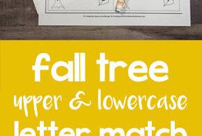 Fall Leaf Letter Match