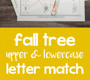 Fall Leaf Letter Match