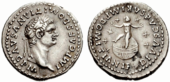 silver coins from ancient rome