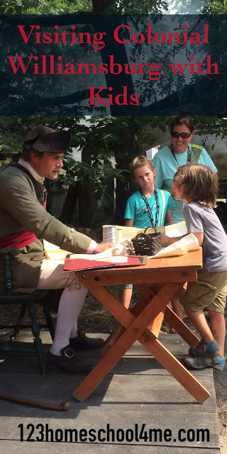 virtual fieldtrip to colonial williamsburg with lots of interesting information and visiting tips