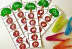 Super cute, free printable Letter Recognition Games for kids to work on abcs