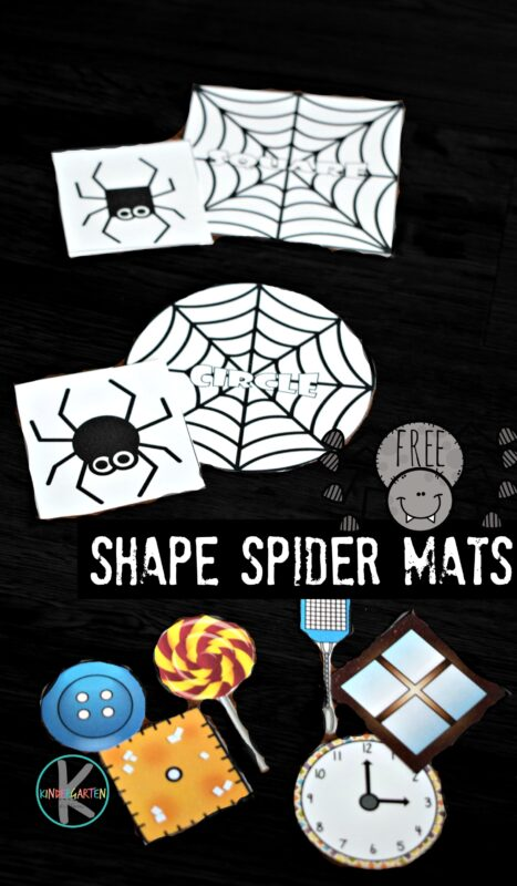 Shape Spider Mats