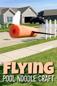 airplane pool noodle craft