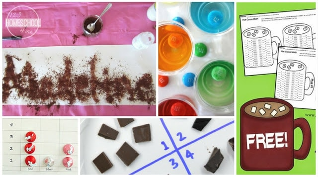 chocolate printable worksheets