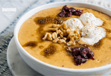 Crockpot Pumpkin-Pie-Oatmeal-Recipe