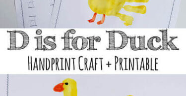 D is for Duck Worksheets