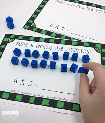 Interactive Multiplication Mats