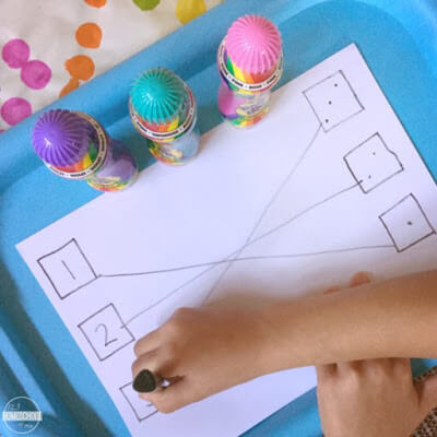 numbers math activity