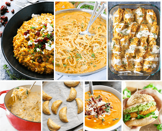 pumpkin dinner recipes