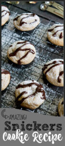 cookies with snickers