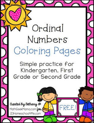 Ordinal Numbers Cover