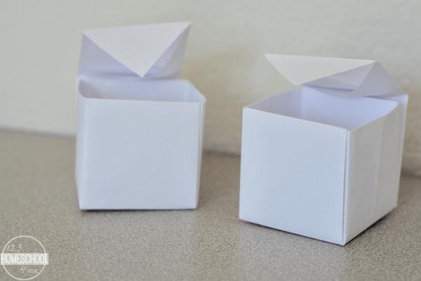 make a box paper craft