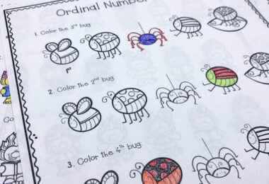 Ordinal-Numbers-Coloring-Pages