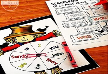 Scarecrow Pronoun Game