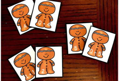 Gingerbread Addition Game
