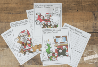 Christmas Rhymes Activity