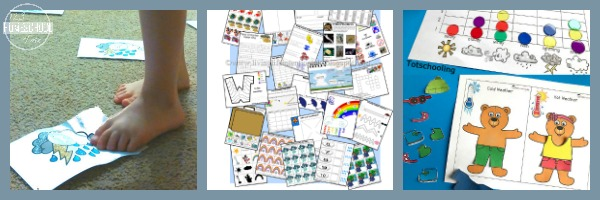 language arts weather activities for kids