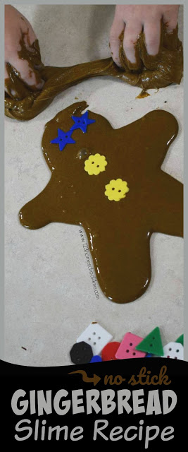 No Stick Gingerbread Slime Recipe