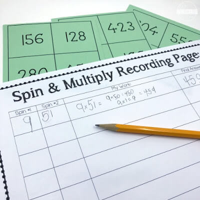 Spin and Multiply Recording Page