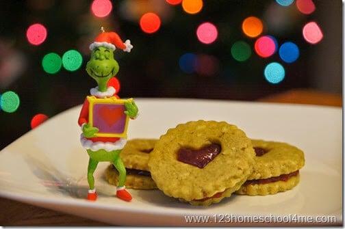 Super cute Grinch Christmas Cookies