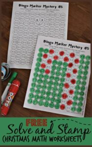 christmas-solve-and-stamp-math-worksheets