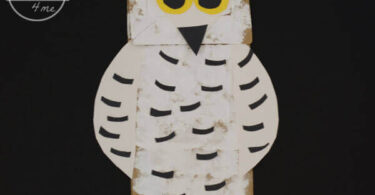 Owl-Paper--Bag-Puppet-Craft