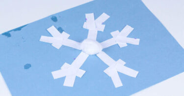 Snowflake Puzzle Craft