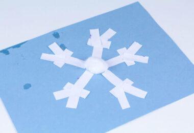Snowflake Puzzle Craft