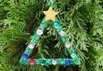Craft Stick Christmas Tree Craft