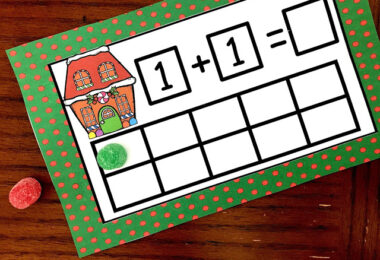 Christmas Ten Frame Task Cards