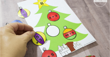 Decorate the Math Christmas Trees