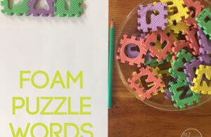 Foam Spelling Words