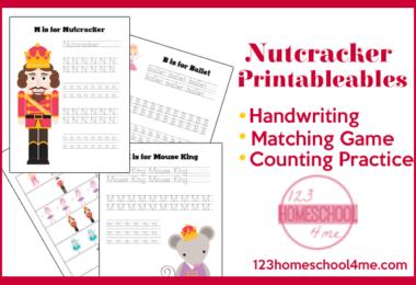 Nutcracker Printables