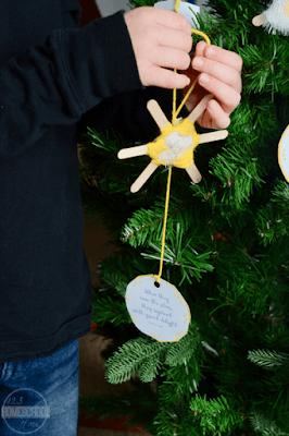 start ornament for kids