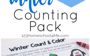 Winter Worksheets for Preschoolers