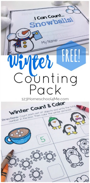 Grab these super cute, count to 10winter worksheets for preschoolers to make learning fun! Use these winter printables to practice counting snowman, tracing numbers, tracing number words, making a winter emergent reader, and so much more. These FREE winter worksheets allow toddler, pre-k, preschool, and kindergarten age students to have fun learning this December, January, and February.