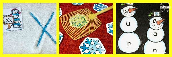 Winter Language Arts Activity