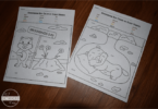 Groundhog Day Color by Sight Word Worksheets