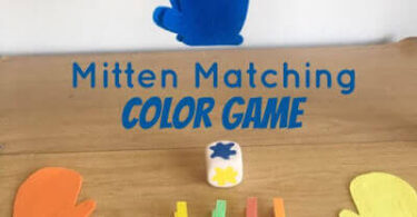 Mitten Matching Color Game