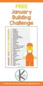 January Lego Challenge