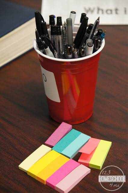 post it note activity for sunday school lessons