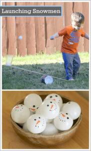 snowman activity for kids